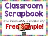 Classroom Scrapbook FREEBIE Sample