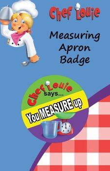 Classroom Set - Measuring PAPER Reward Badge - How to Cook