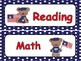Patriotic Theme Classroom Display