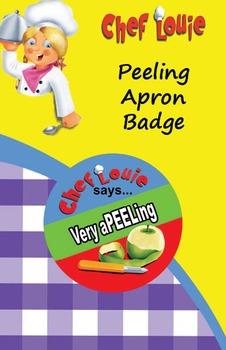 Classroom Set - Peeling Apron Reward Badge - How to Cook w
