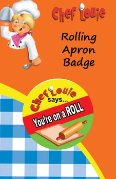 Classroom Set - Rolling Apron Reward Badge - How to Cook w