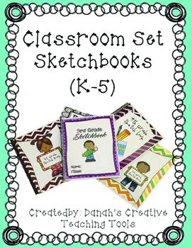 Classroom Set Sketchbooks for Elementary Art
