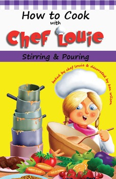 Classroom Set - Stirring & Pouring Cookbook - How to Cook