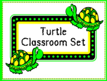 Classroom Set- Turtles