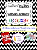 Classroom Songs & Attention Grabbers