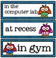 Classroom Status Door Hanger - Owl Theme