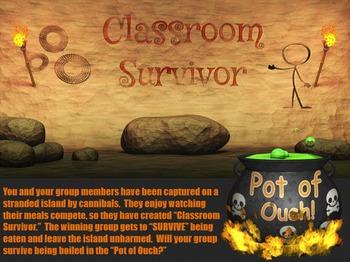 Classroom Survivor PowerPoint Game