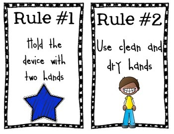 Classroom Technology Rules
