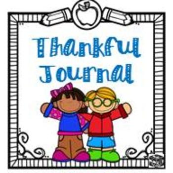 Classroom Thankful Journal