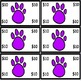 BEAR CLASSROOM DECOR and MANAGEMENT SET in Purple