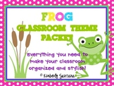 Classroom Decor Theme {Frogs & Polka Dots}