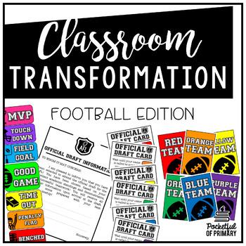 Classroom Transformation | Football Edition