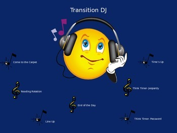 Classroom Transition Song DJ PowerPoint