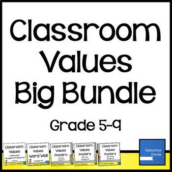 Classroom Values - Big Bundle