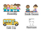 """Classroom Visual Schedule with the """"Centers"""""""