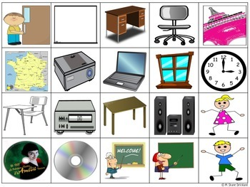 Classroom Vocabulary