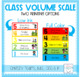 Classroom Volume Scale & Activity Set for Children with Au