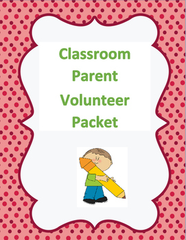Classroom Volunteer Packet