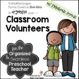 Classroom Volunteer Binder with Melonheadz friends