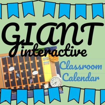 Classroom Wall Calendar Display - Days of the week, months