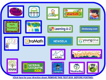 Classroom Webpage Support (Intermediate Classrooms)
