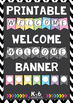 Classroom Welcome Banner