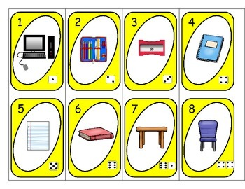 Uno - Classroom / back to school card game