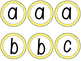 boggle board letters and numbers