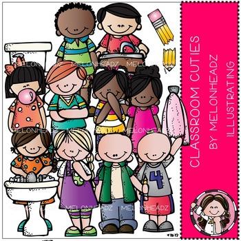Melonheadz: Classroom cuties clip art - COMBO PACK