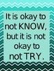 Classroom Motivational Sayings