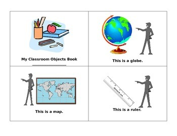Classroom objects Book