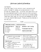 Classroom or Resource Room Contact Info Sheet for Parents