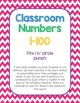 Classroom/Student Numbers
