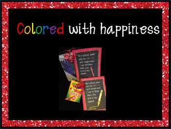 Classrooms Colored with Happiness