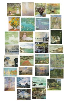 Claude Monet - 20 public domain pictures to use for anythi