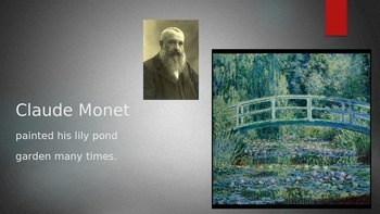 Claude Monet's Lily Pads-  Art History and Color Lesson Gr