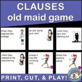 Clauses Old Maid Game