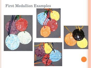 Clay Medallions