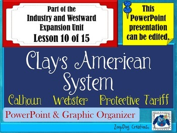 Clay's American System - Protective Tariff PowerPoint and