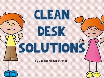 Clean Desk Solution- The Adventures of Messy Mike and Mess