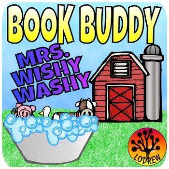 Mrs. Wishy Washy Book Companion Math Literacy Centers Pres
