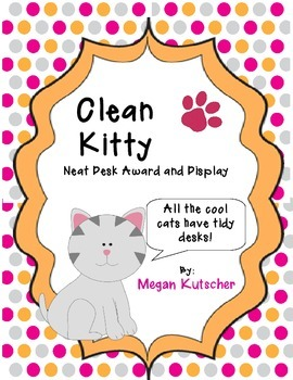 Clean Kitty Tidy Desk Award Pack