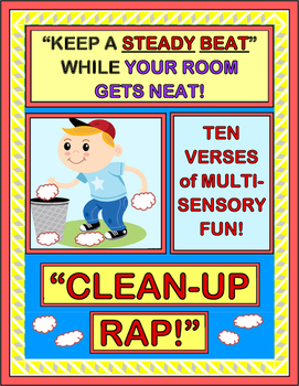 """Clean-Up Rap!"" - Classroom Management with a Group Game f"
