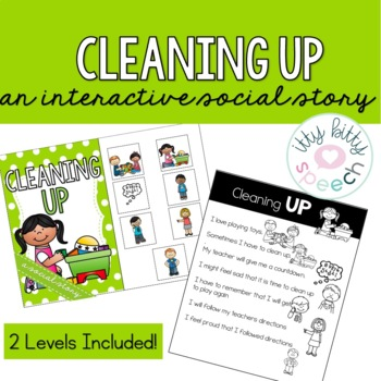 Cleaning Up - Interactive Social Story