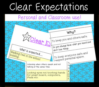 Clear Expectations - Explaining the rules
