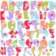 Clementine Alphabet Clipart by Poppydreamz Floral Paisley