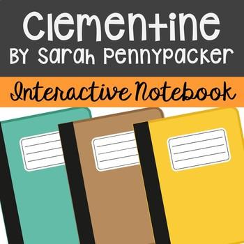 Clementine Interactive Notebook Novel Unit Study Activitie