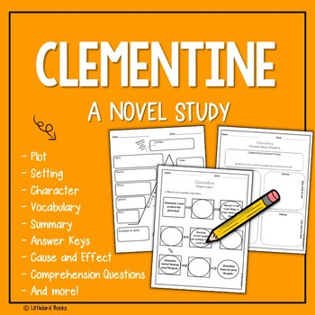 Cause and Effect with Clementine by Sara Pennypacker {Nove