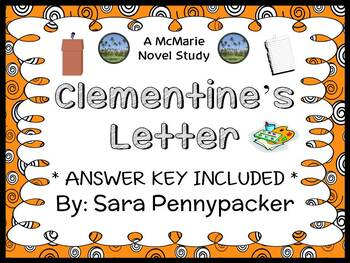 Clementine's Letter (Sara Pennypacker) Novel Study / Compr