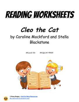 Cleo the Cat  by Caroline Mockford and Stella Blackstone